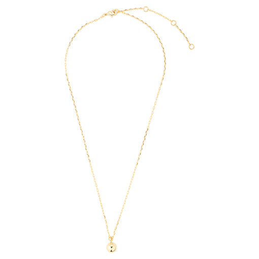 Oroton Liana Drop Necklace in Gold and Brass Base Metal With Precious Metal Plating for female