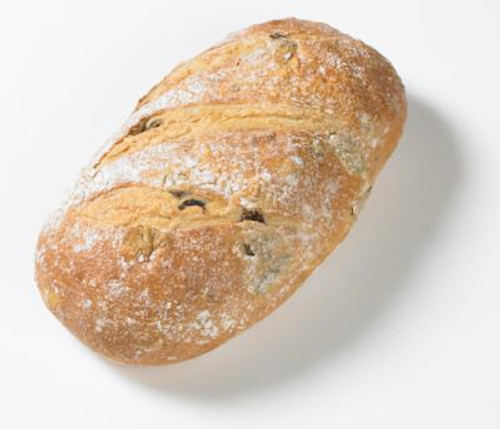 Artisan Bread using a Natural Sour with an Olive Blend of 3 different Olives and Herb de Provence added for a great flavor.