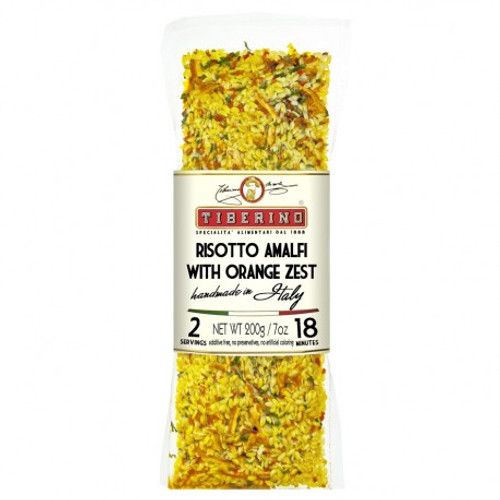 A great risotto that will remind you of the coasts, orange groves and lush gardens of Amalfi. For a unique taste experience!