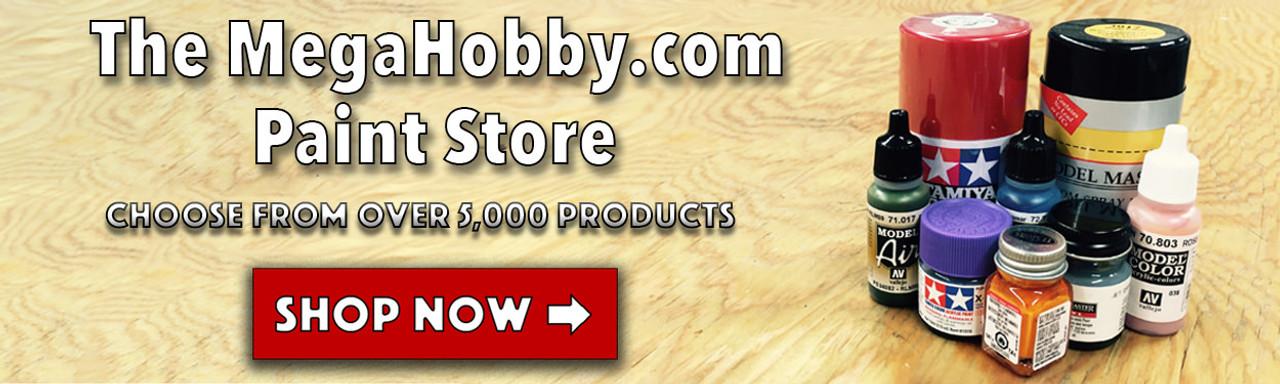 MegaHobby.com Paint Store