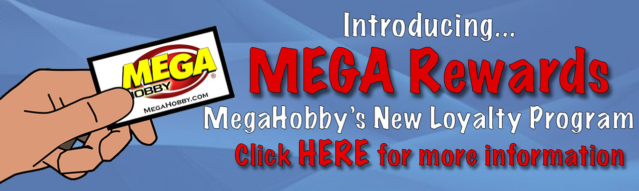 MegaHobby.com Rewards Points
