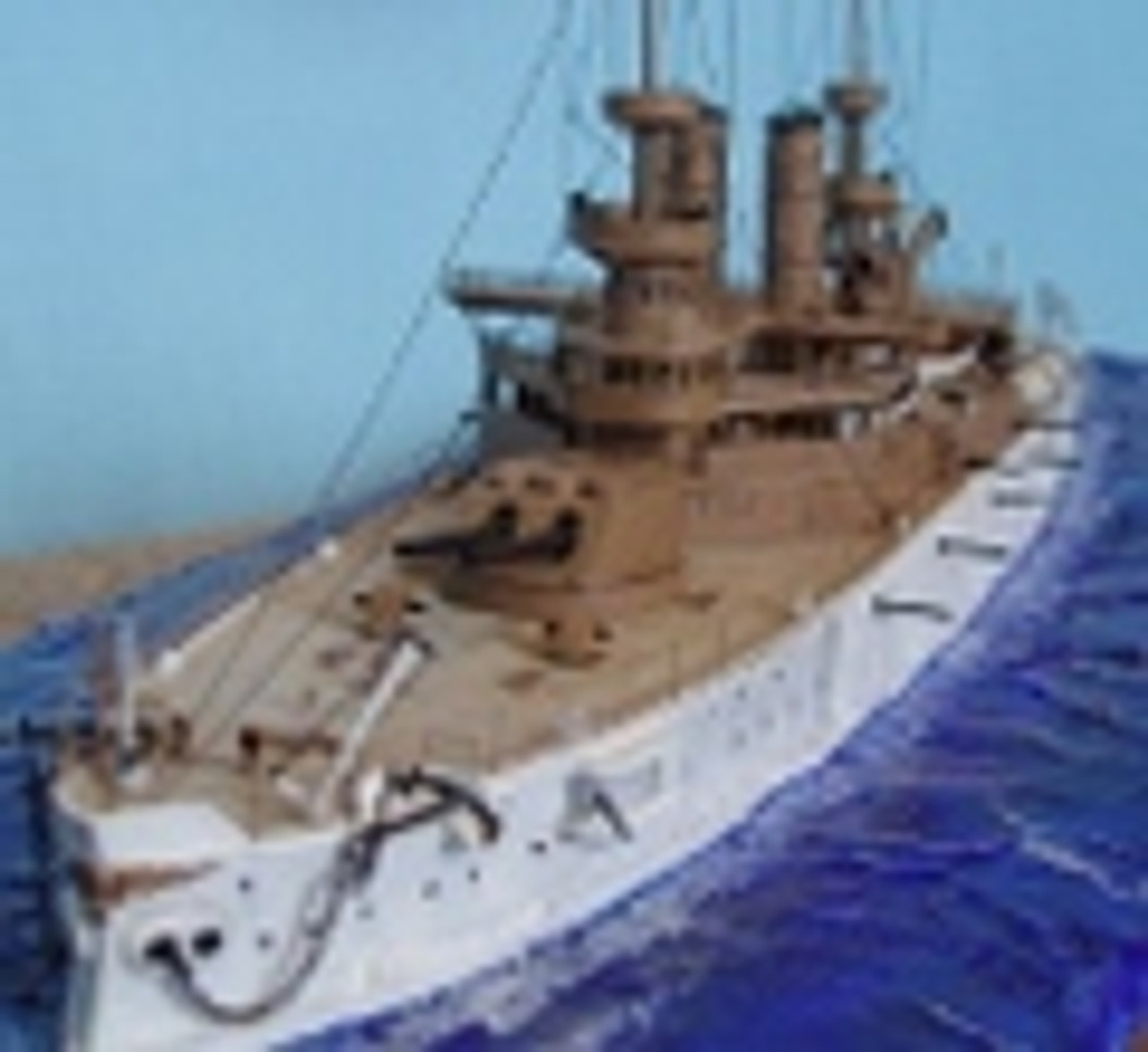Model Ship Detail Parts