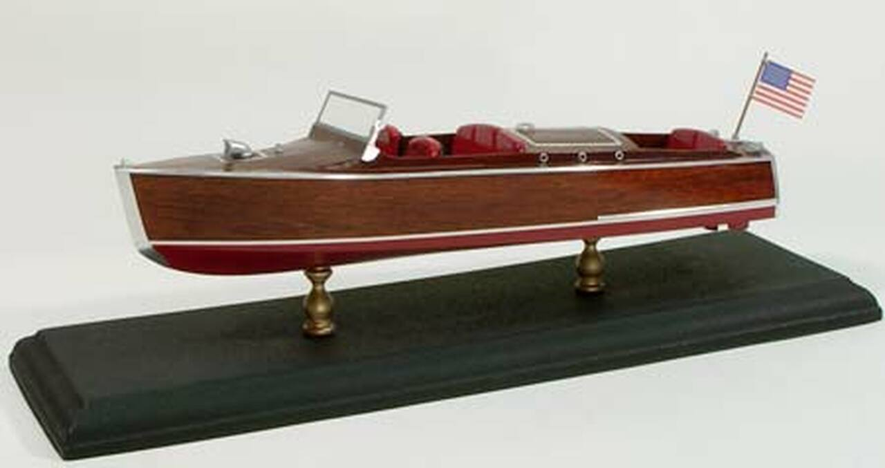 1930 Chris Craft Runabout Wooden Boat Kit Dumas