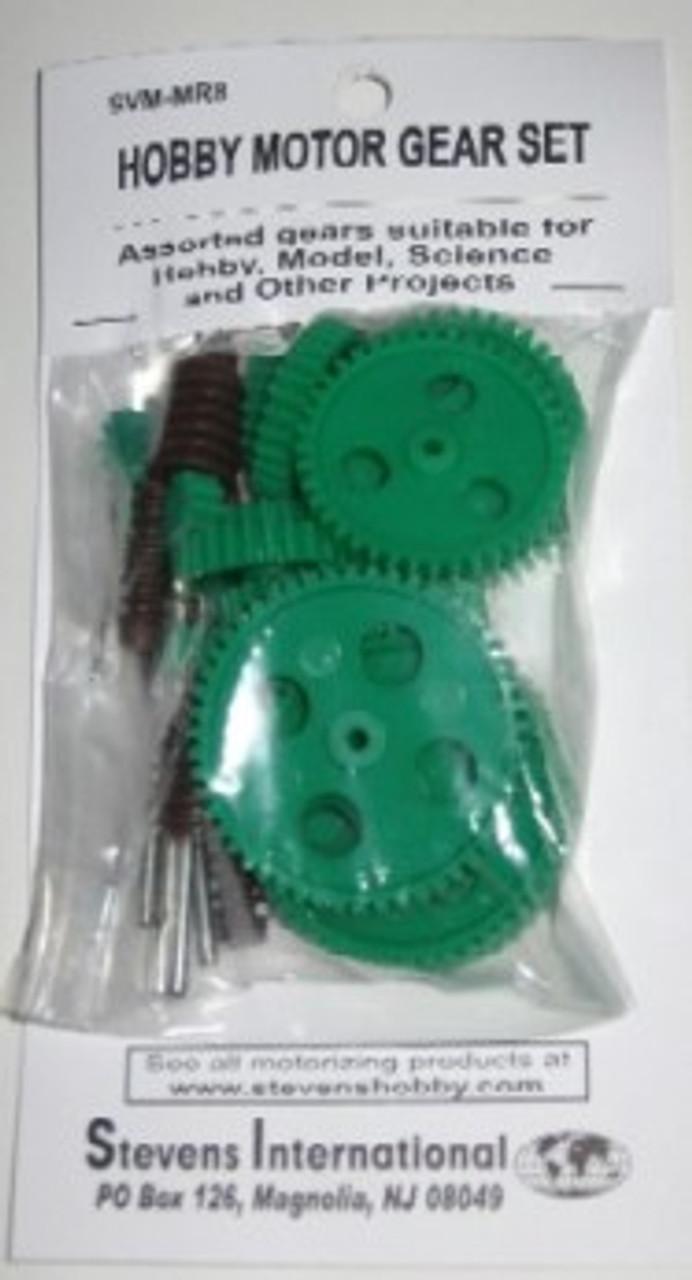 1.9mm ID 10pcs Stevens Motors 202  Assorted Medium Plastic Pulley Set