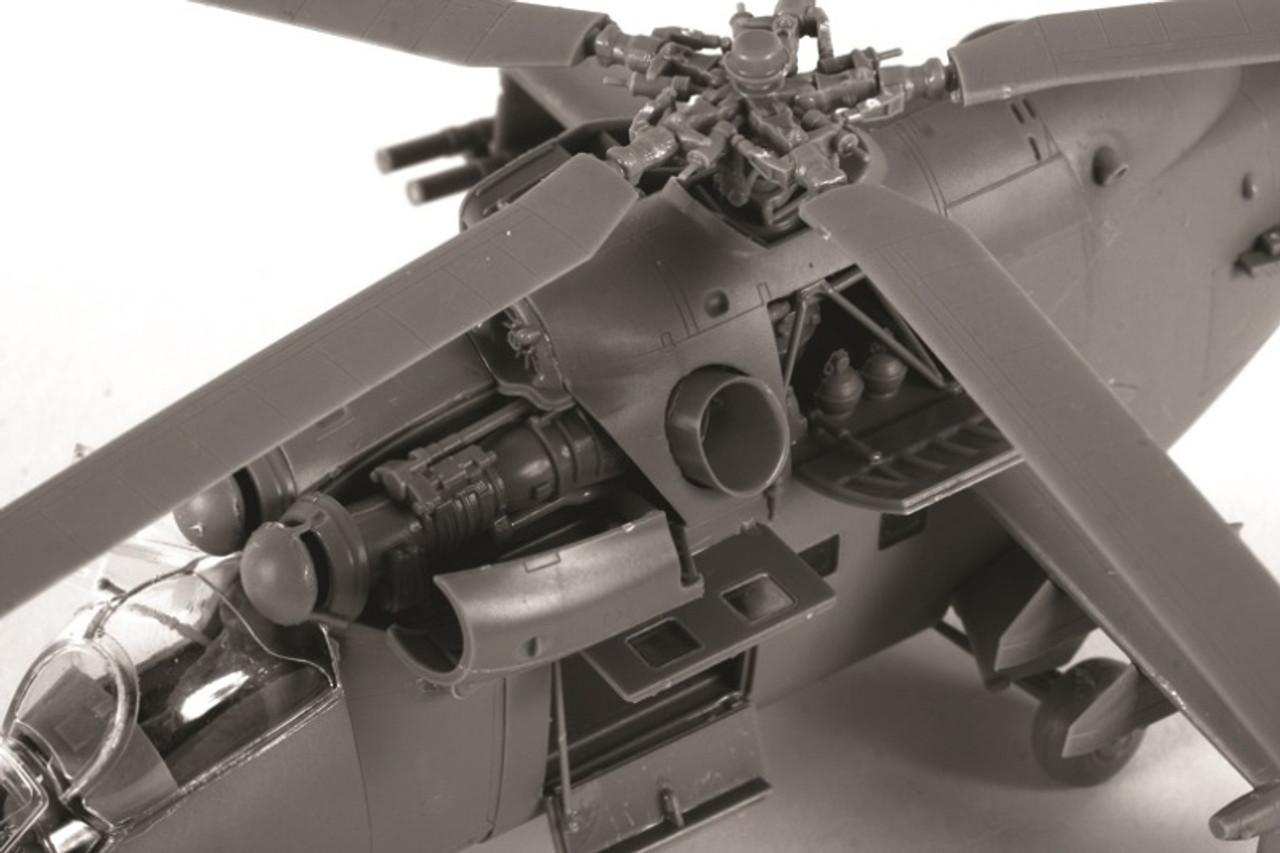 Kit 7293 Model Mi-24v 72 Helicopter VP 1 Soviet Zvezda Plastic Hind Attack for sale online