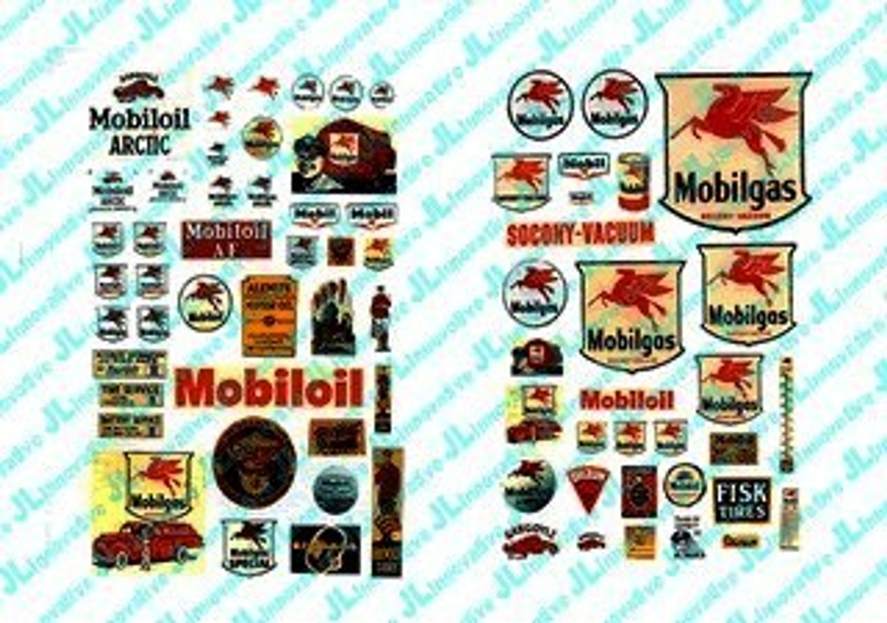 JL Innovative 484 HO 1930-50/'s Vintage Texaco Gas Station Posters//Signs 82