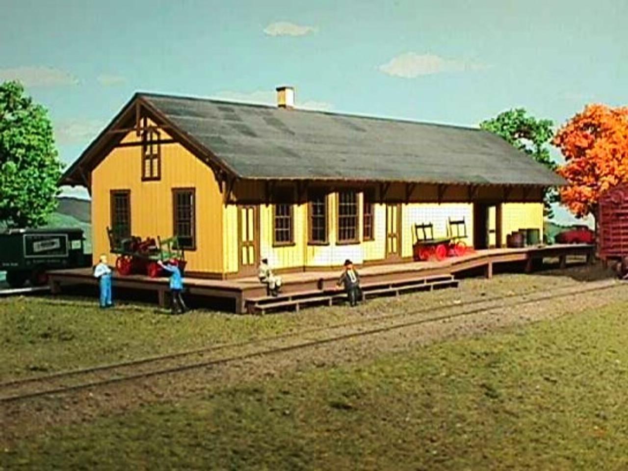 New Freedom Pennsylvania Railroad Depot Ho American Model Builders