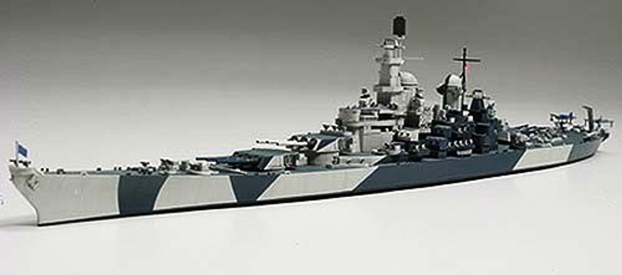 USS Iowa BB61 Battleship Waterline 1/700 Tamiya
