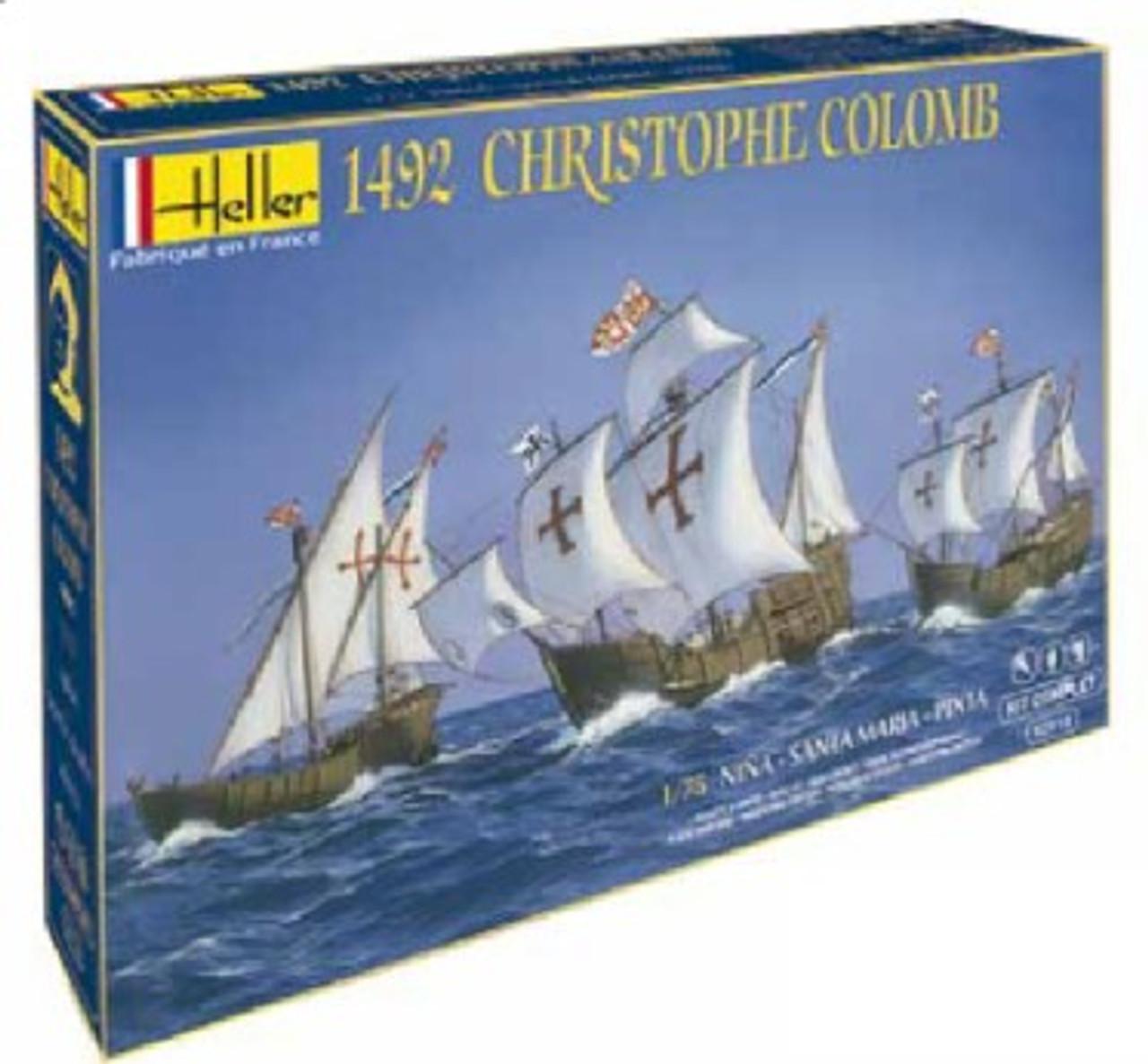 1492 Christopher Columbus Sailing Ships: Santa Maria