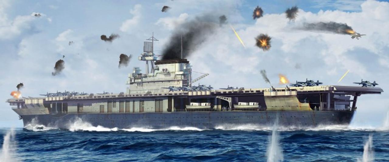 USS Yorktown CV5 Aircraft Carrier 1/700 Trumpeter