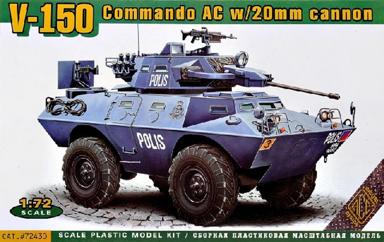 Ace 1/72 20mm FV-601 Saladin Armoured Car demano mk