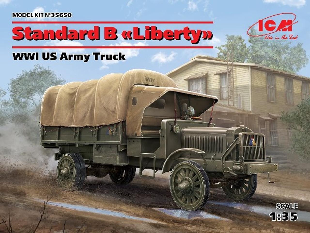 WWI US Standard B Liberty Army Truck 1/35 ICM Models