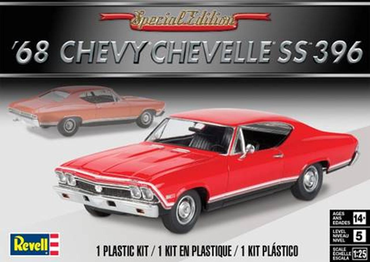 1968 Chevelle Ss 396 1 25 Revell