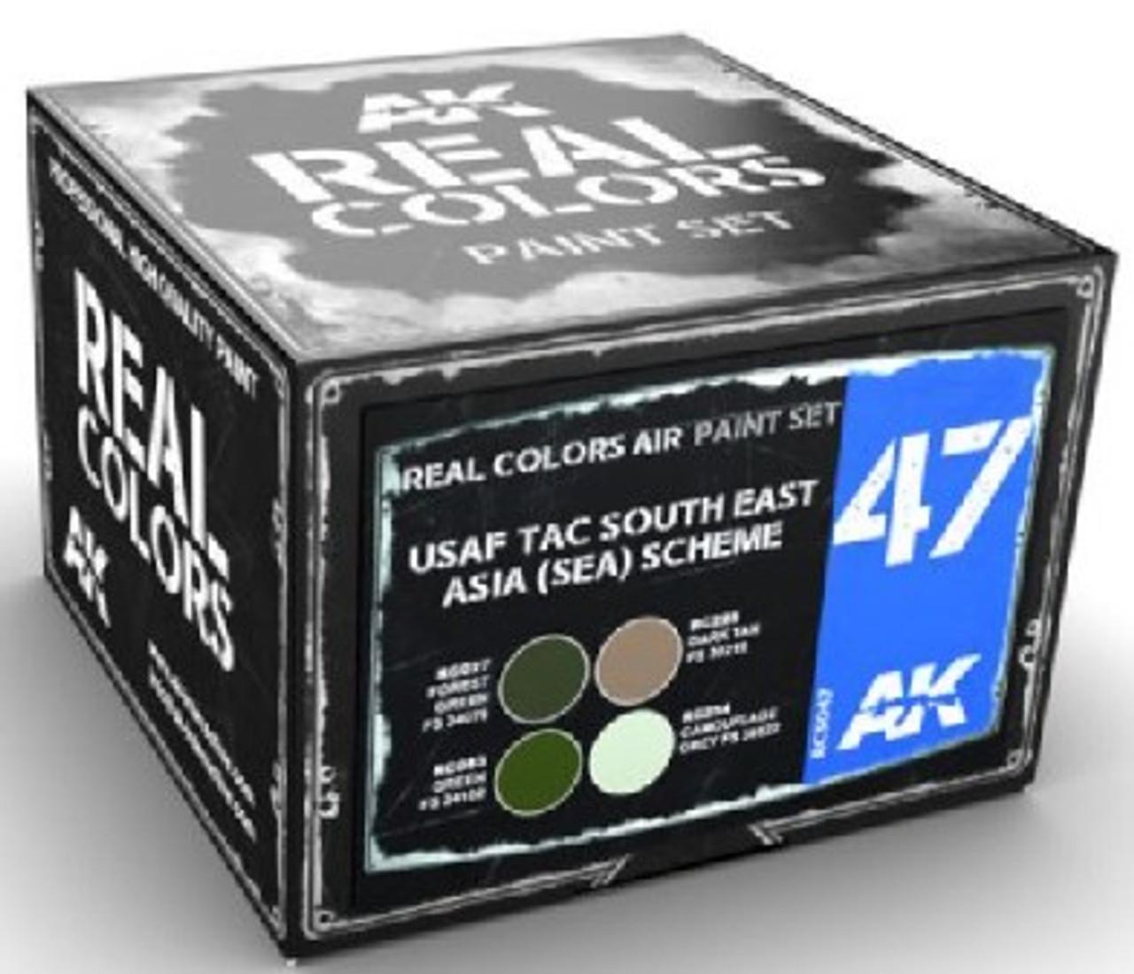 Real Colors: USAF TAC South East Asia (SEA) Scheme Acrylic