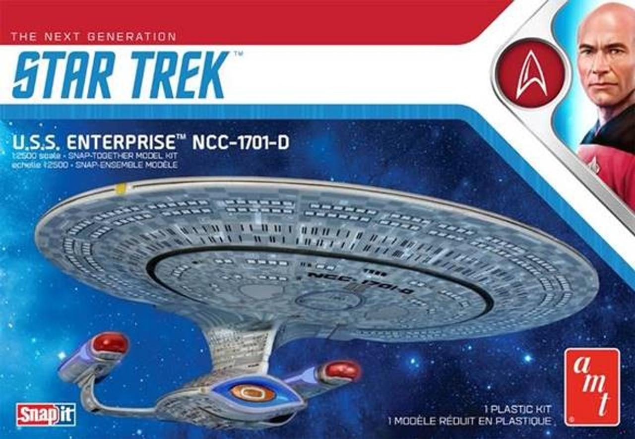 Star Trek: The Next Generation USS Enterprise NCC-1701D 1/2500 AMT Models