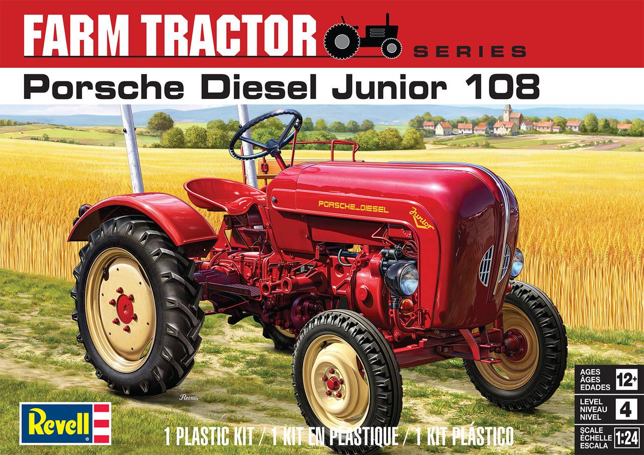 Porsche Diesel Junior 108 Farm Tractor 1/25 Revell