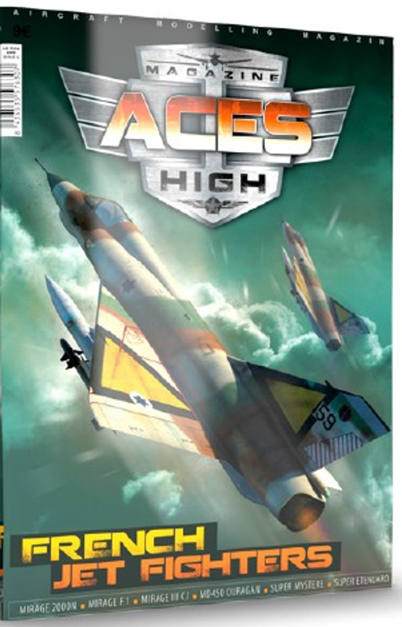d8f06d4210e2 Aces High Magazine Issue 15: French Jet Fighters AK Interactive. AK  Interactive