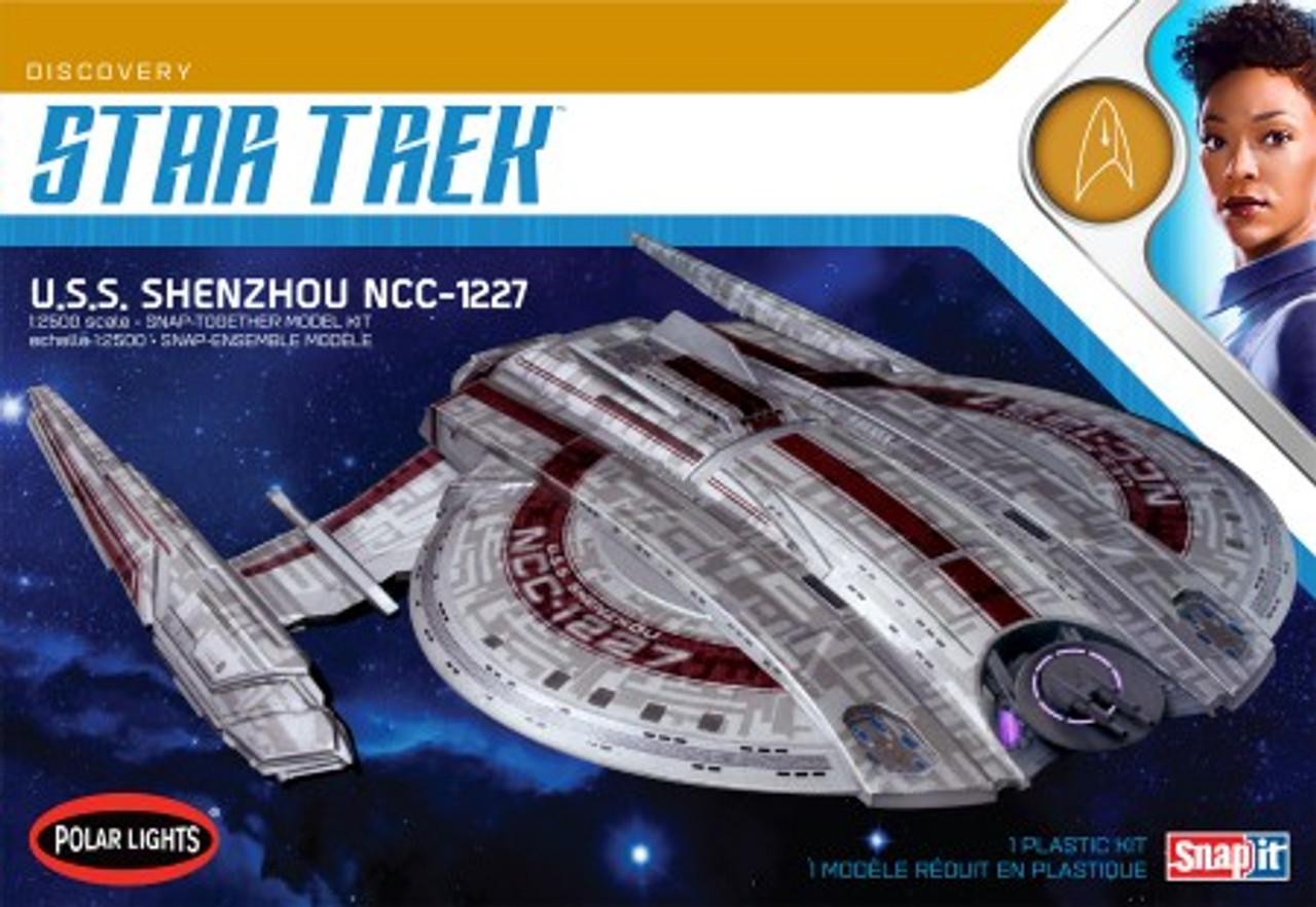 Star Trek Discovery Series USS Shenzhou (Snap) 1/2500 Polar Lights