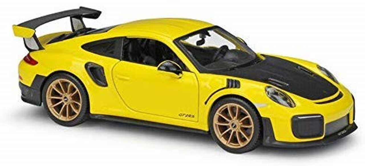 2018 Porsche 911 Gt2 Rs Yellow 1 24 Maisto