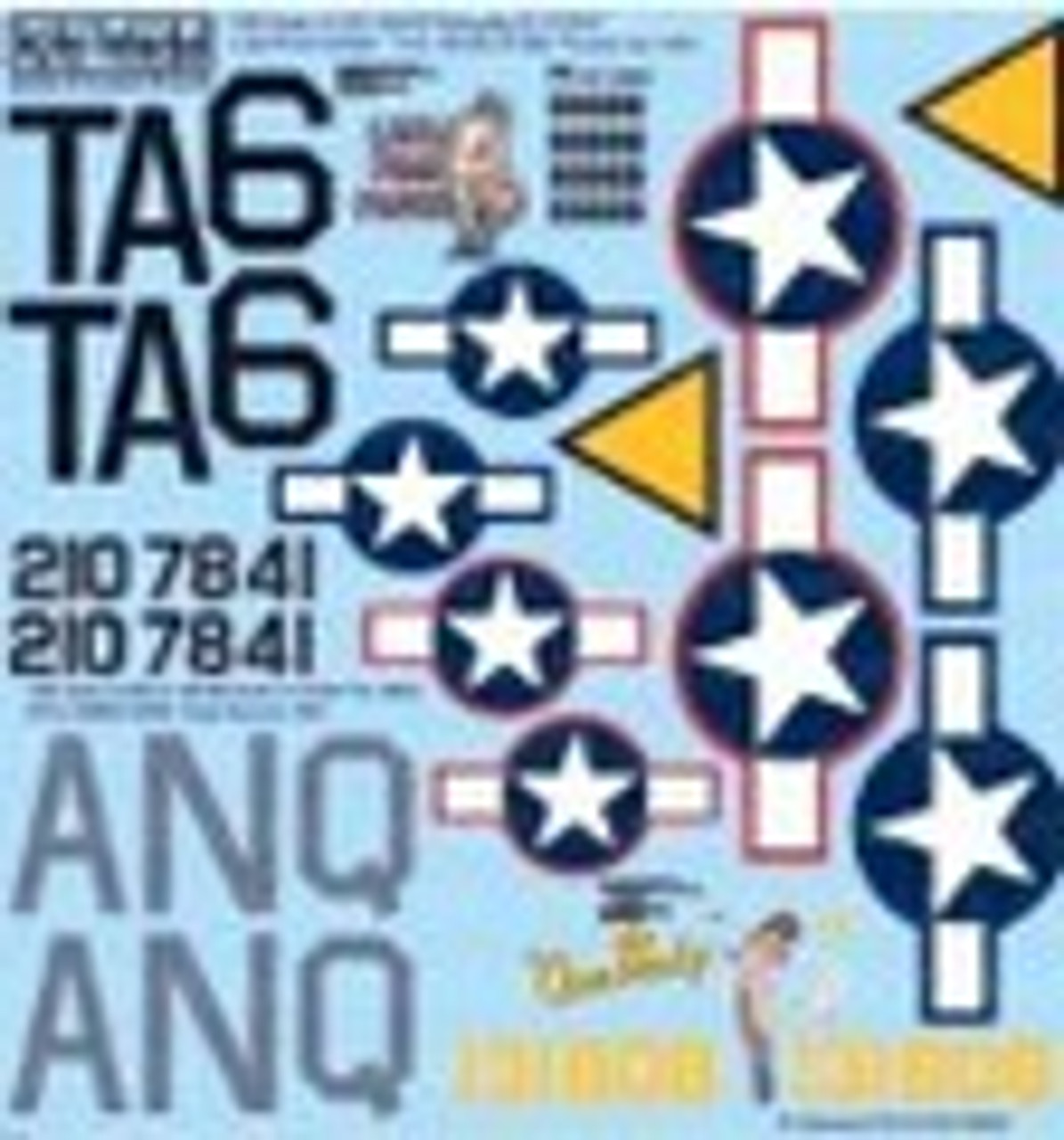 1/48 Scale Decals