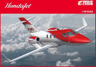 Build Review of Ebbro's 1/48 scale HondaJet