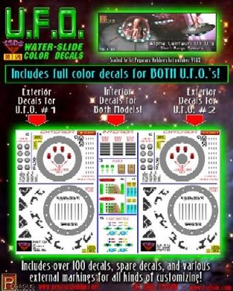 Alpha Centauri 2 UFO Short Range Saucers Alien 1:32 Area 51 1:72 Pegasus 9102