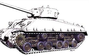 Wheels & Suspension (HVSS) for M-4 Sherman Medium Tank 1/35 AFV Club