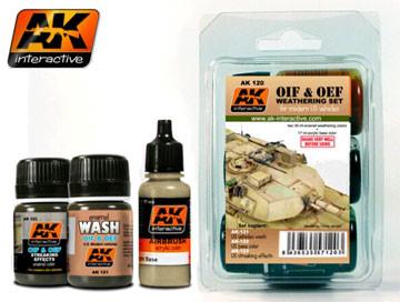 Acrylic Enamel Paint >> Oif Oef Modern Us Vehicles Acrylic Enamel Paint Set 121 122 123 Ak Interactive