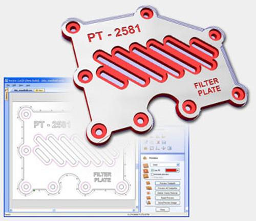 Vetric Vcarve Desktop CAM Software