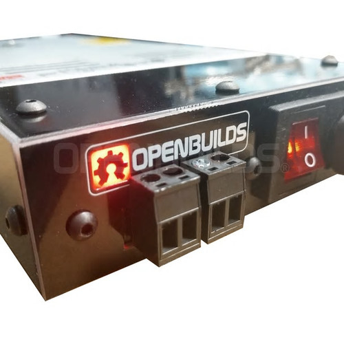 24V Meanwell Power Supply and Case Bundle