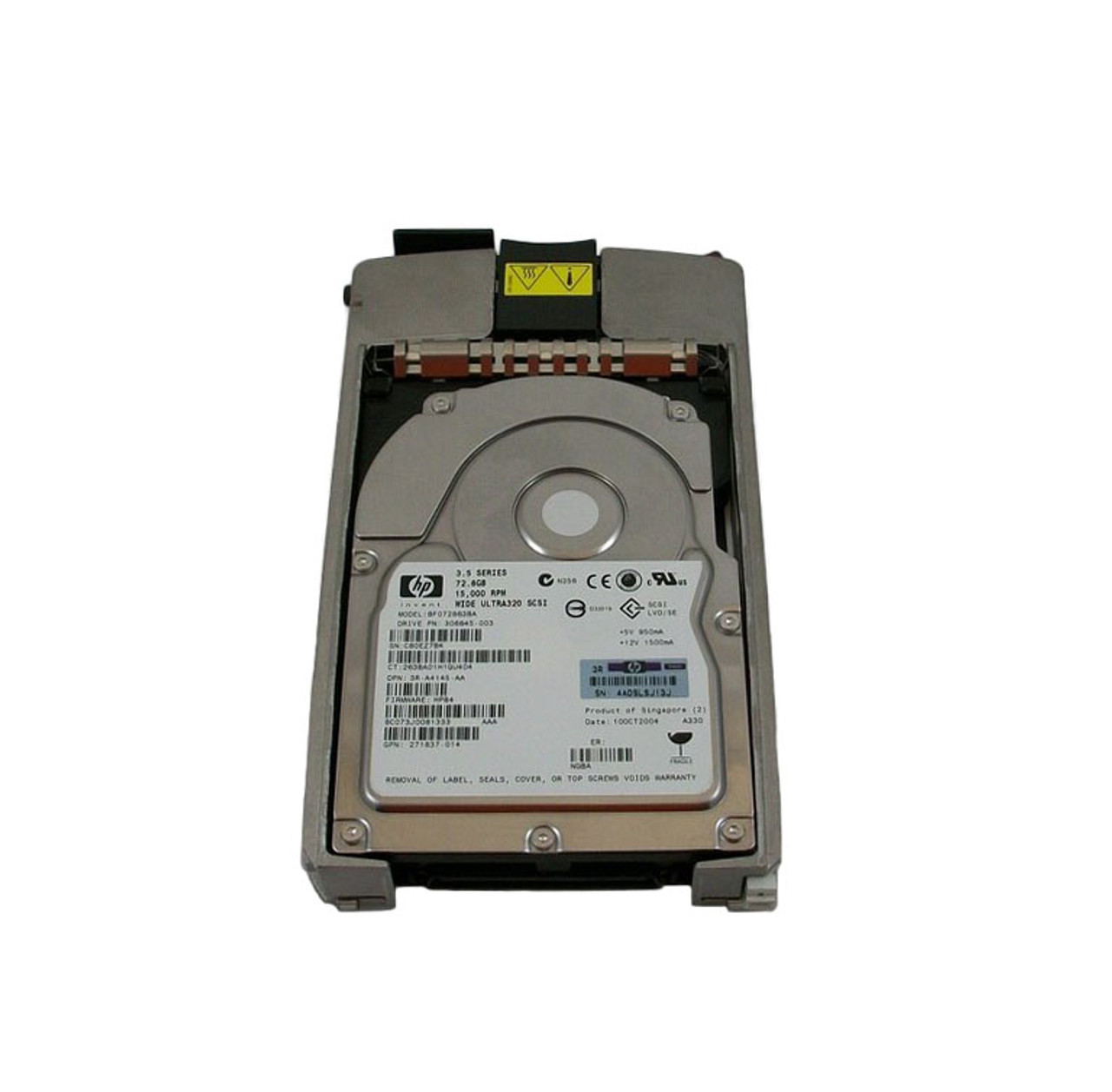HP 72.8GB 15K U320 Universal HDD 286778-B22
