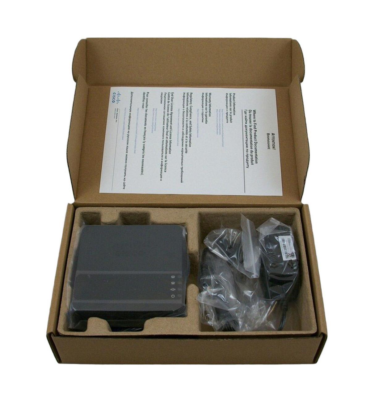 Cisco ATA 190 Analog Telephone Adapter with Power ATA190 New In Box