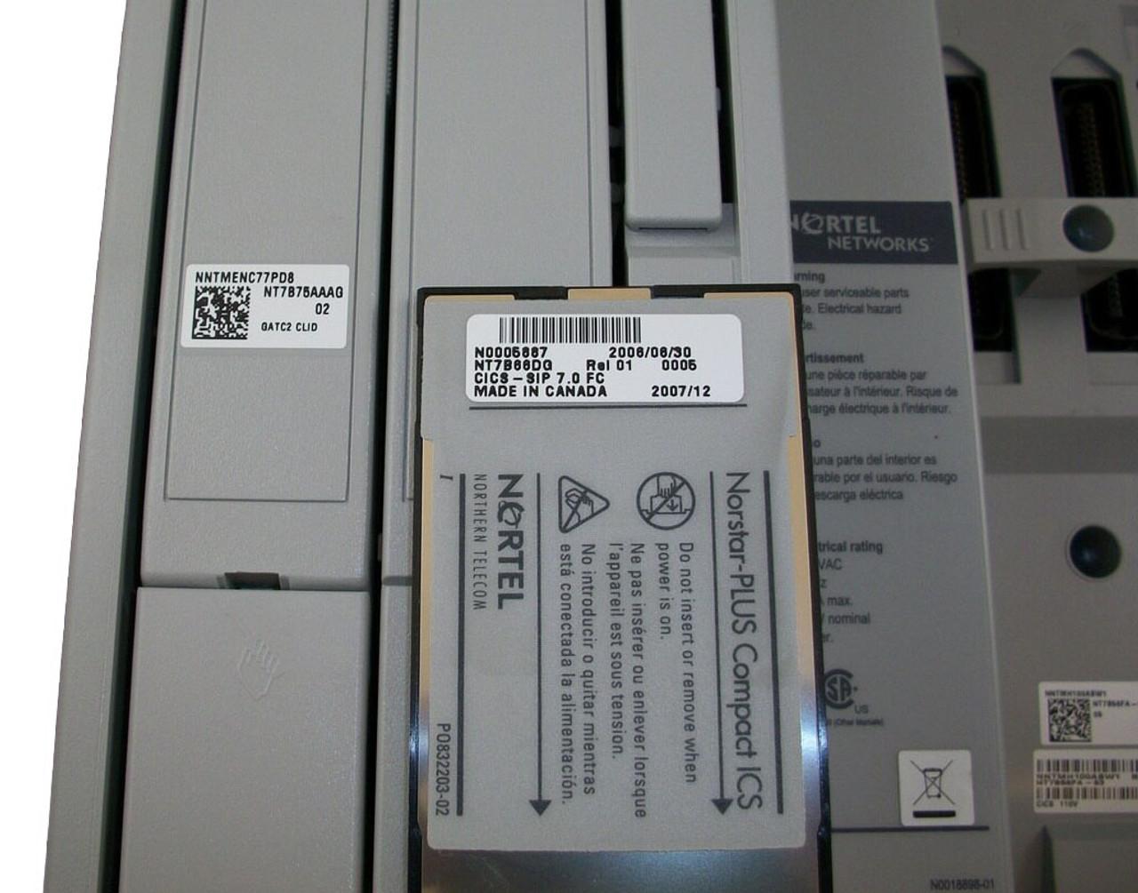 Nortel Norstar Compact ICS NT7B56FA-93