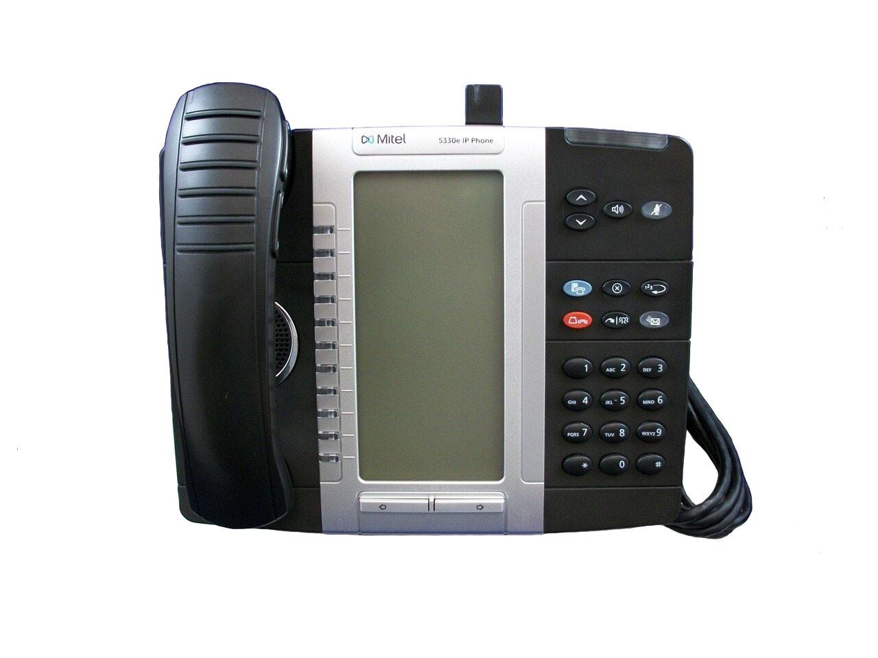 Mitel 5330e IP Phone 50006476 Includes 50005711 Cordless Handset & Module