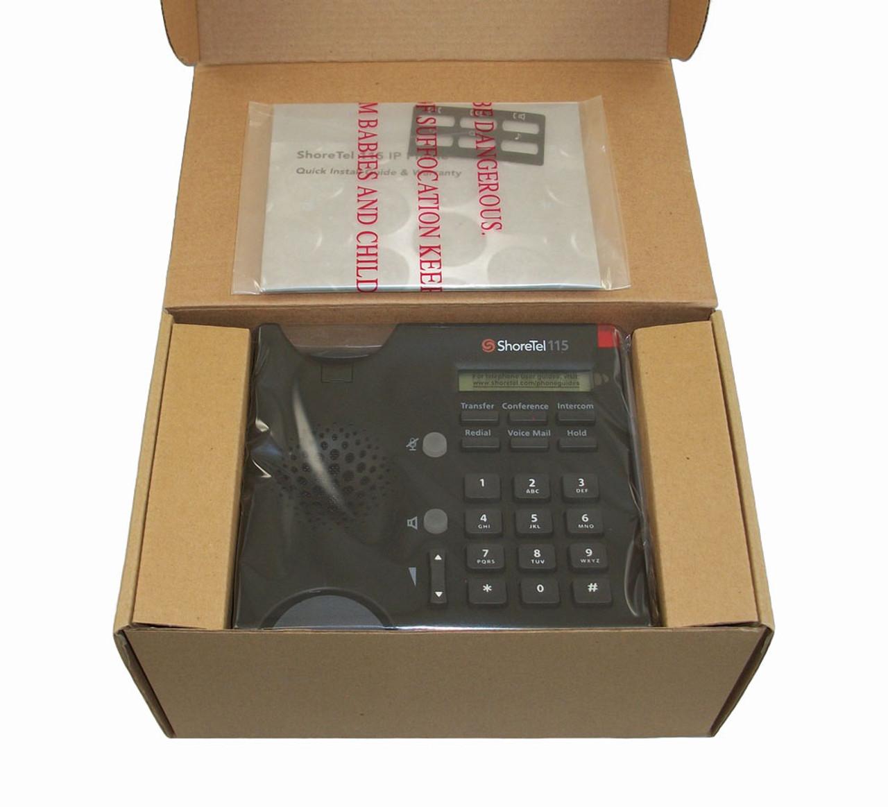 ShoreTel ShorePhone Model IP 115 VoIP Phone - 630-1035-11