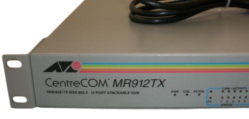 Allied Telesyn CentreCom MR912TX UTP/STP 100BTX 12-Port Hub AT-MR912TX