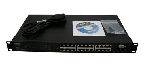 Black Box 24-Port 10/100 L2 PoE Switch LPB201A