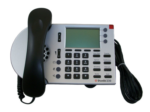 ShoreTel ShorePhone IP 230 VoIP Phone - Silver