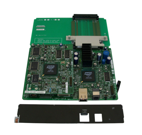 Toshiba CIX 200 16 Port IP Card LIPU-X1A