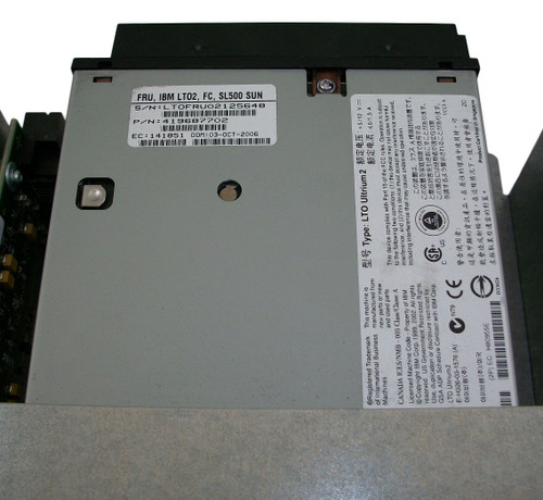 Sun StorageTek SL500 LTO2 IBM 2GB FC Tape Drive in Tray 419687702