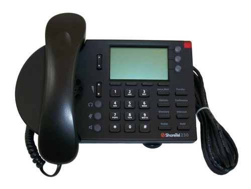 ShoreTel ShorePhone Model IP 230 VoIP Phone - Black