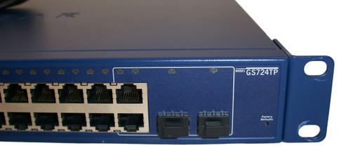 NetGear ProSafe GS724TP V1H2