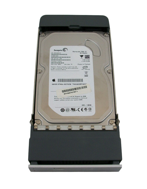 Apple 655-1389A 80GB 7200RPM SATA HDD 655T0238