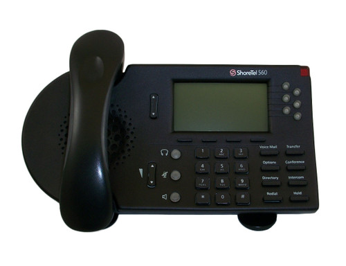 ShoreTel ShorePhone Model S6 IP 560 VoIP Phone - Black