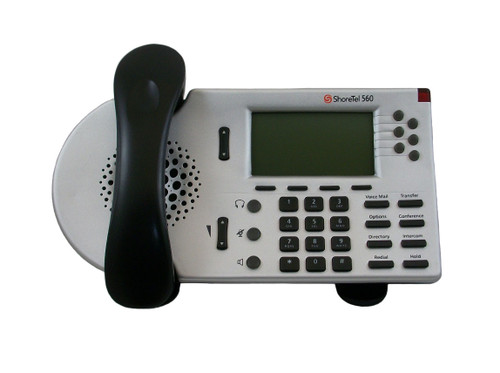 ShoreTel ShorePhone Model S6 IP 560 VoIP Phone - Silver