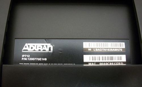 Adtran 1200770E1#B IP712