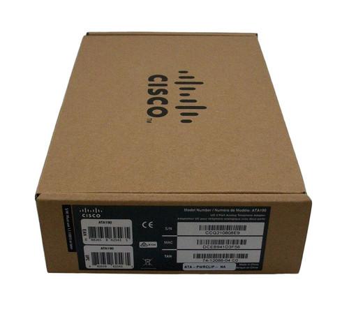 Cisco ATA 190 Analog Telephone Adapter
