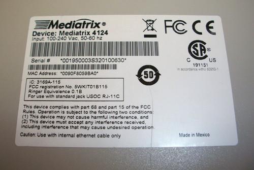 Mediatrix 4124