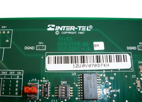 Inter-Tel Axxess PRI T1/E1 550.2740 827.8877