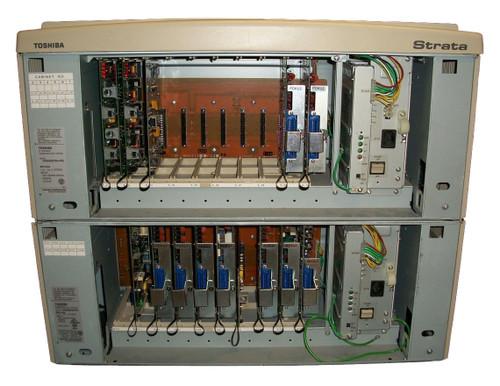 Toshiba Strata CIX 670 IP Phone System CHSUB672A+PS